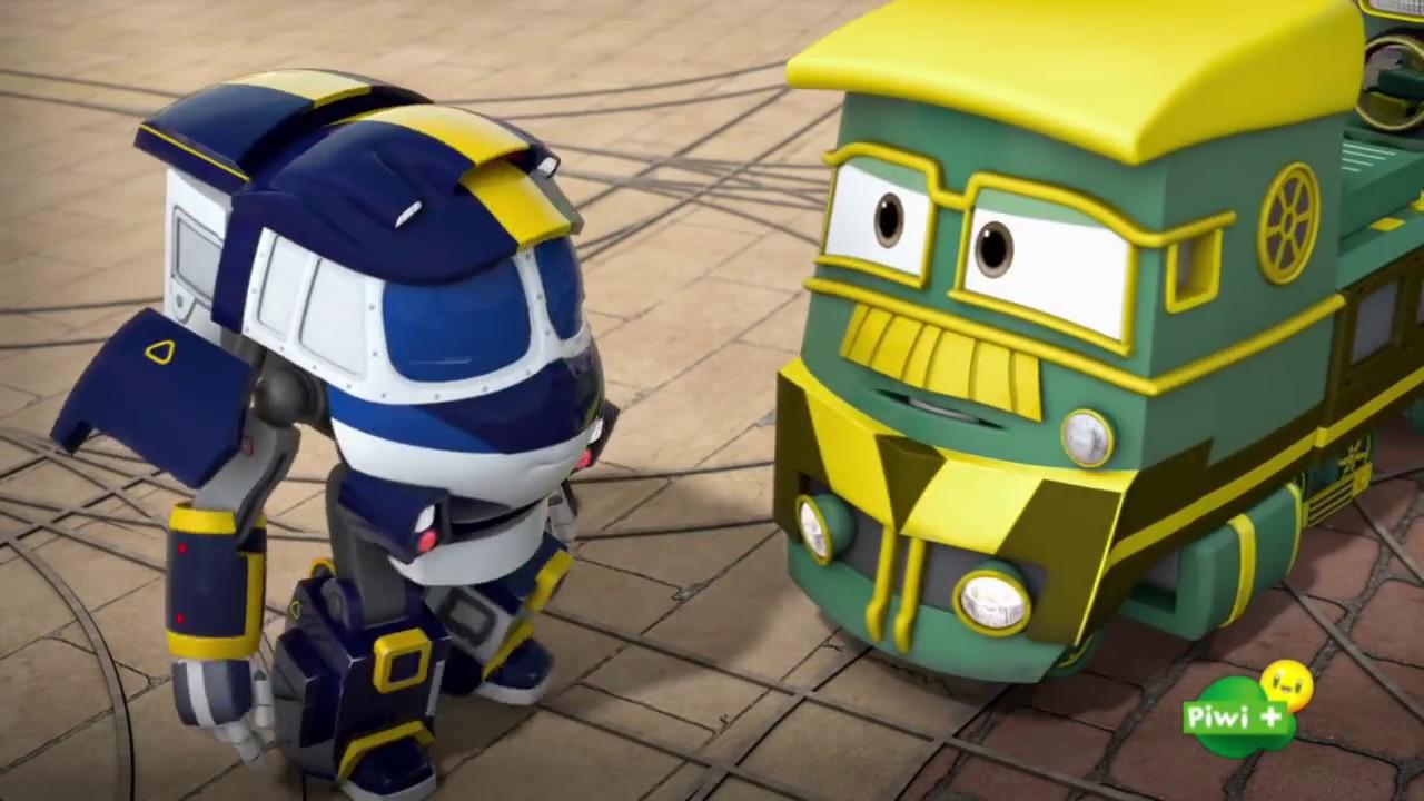 Robot trains youtube