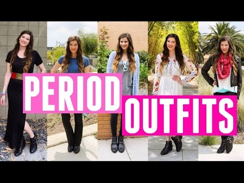 PERIOD OUTFITS! What to Wear on Your Period!