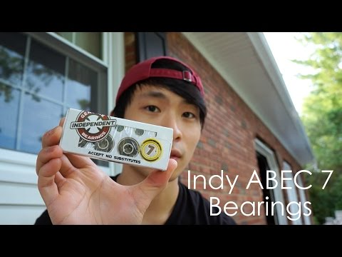 Independent ABEC 7 Bearings Review | Spin Test | Unboxing