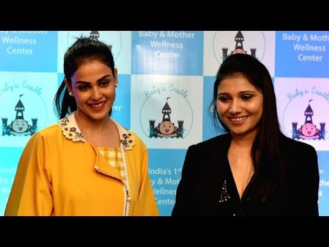 Grand Launch of India's 1st & Only Baby & Mother Wellness Centre by Genelia D'souza