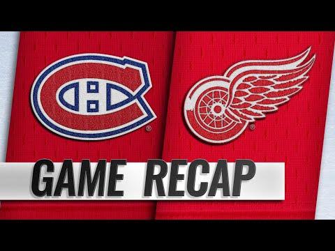 Niemi, Petry pace Canadiens past Red Wings, 3-2