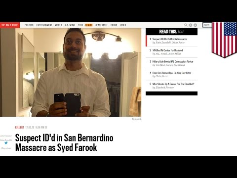 San Bernardino shooting: Daily Beast goes back and forth on shooting suspect's photo - TomoNews