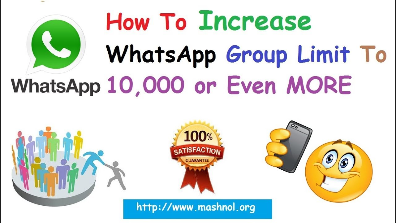 [100% Working] Increase WhatsApp Group Members Limit to 10,000 or More