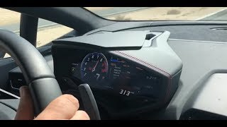 315 km/h w Lamborghini - fotoradar nie zdąży zrobić zdjęcia...
