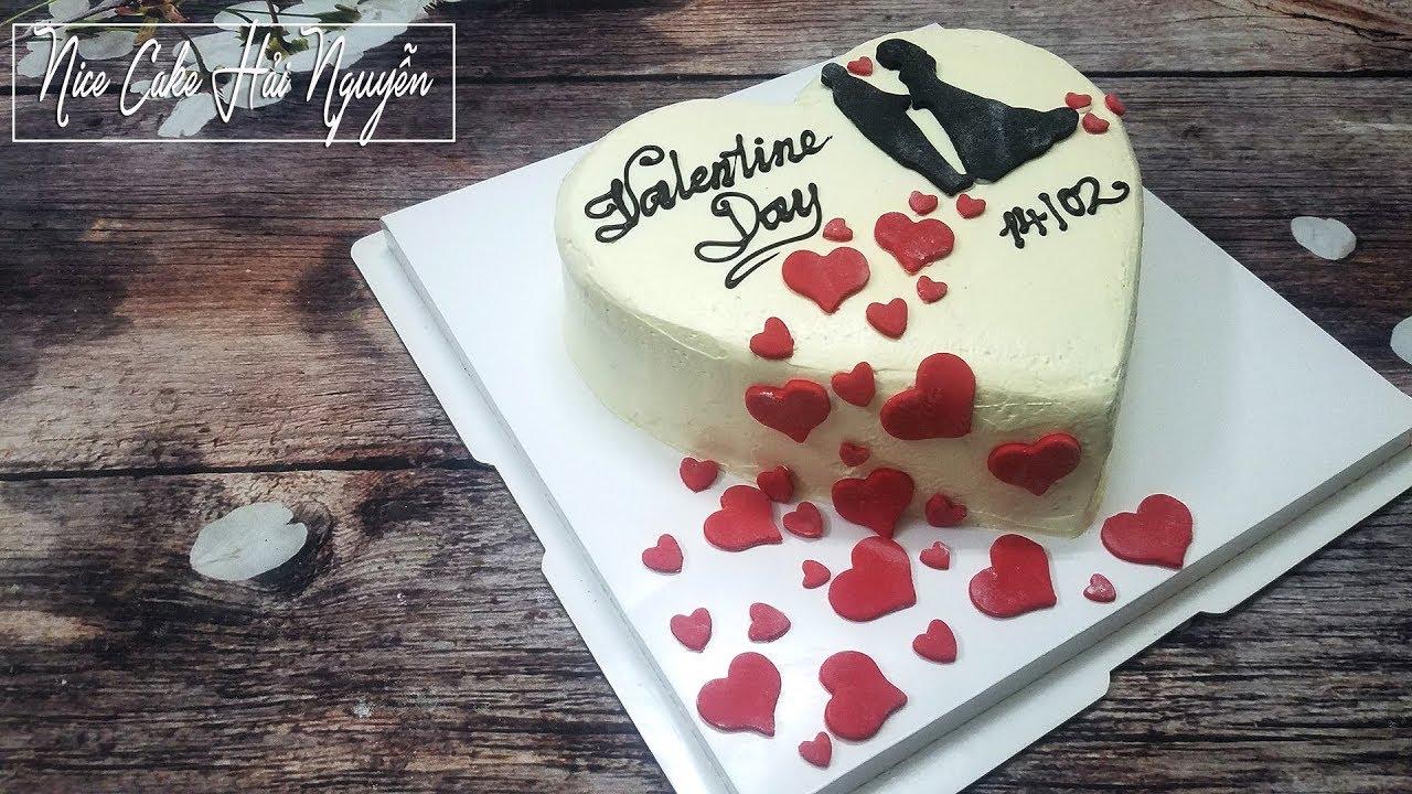Trang Trí Bánh Kem Cho Ngày Lễ Tình Yêu – Decorate Valentine Cake Idea