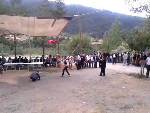 çankırı ılgaz mülayim köyü köy düğününde oyun