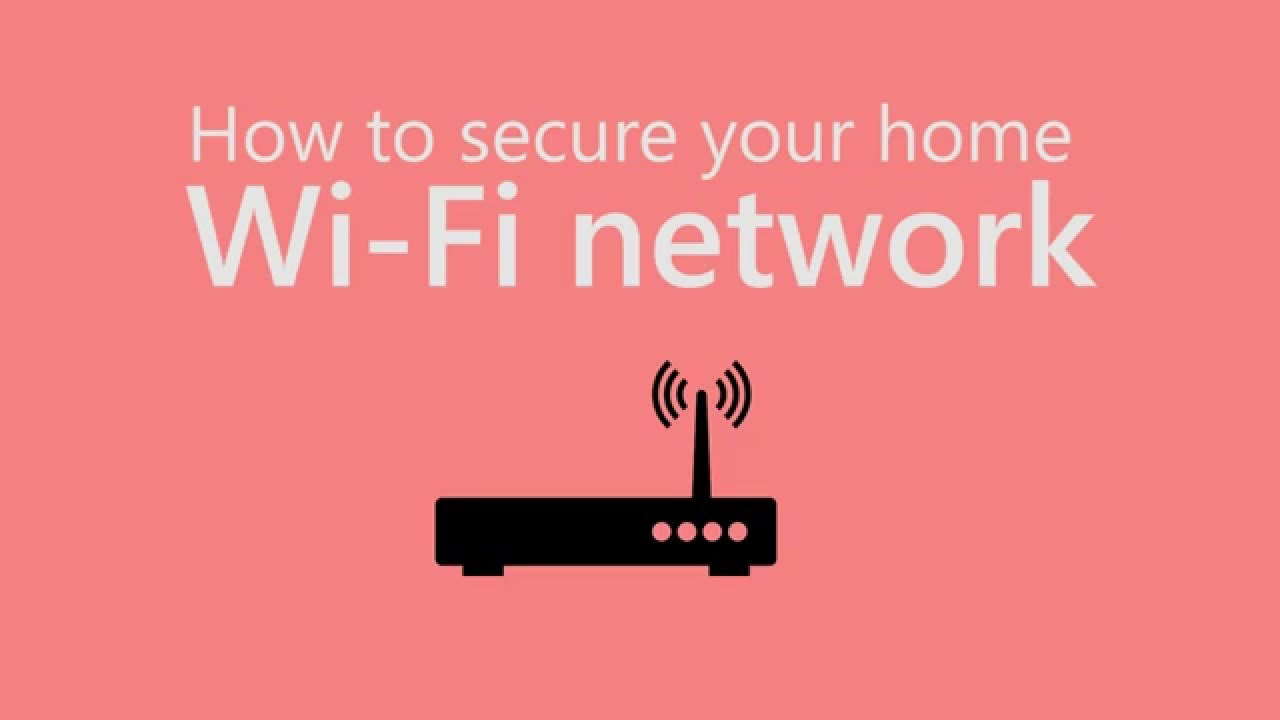 How to secure your home WiFi networkYouTube