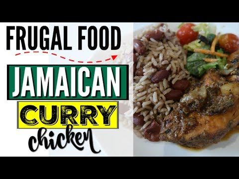 COOK WITH ME ● HOW TO MAKE EASY JAMAICAN CURRY CHICKEN ● RECIPE ● FRUGAL FAMILY FOOD COLLABORATION