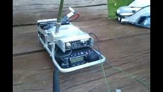 Repeat youtube video FT-857 manpack naked: SM0OWX on 17m SSB