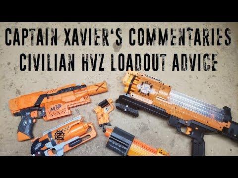 The Captain's Commentaries - Civilian HvZ Loadout Advice