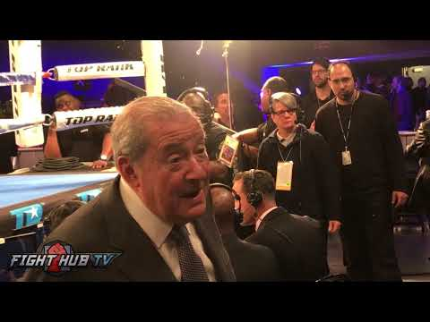 """BOB ARUM """"MCGREGOR VS PACQUIAO IS NOT A FUCKING FIGHT, IF YOU WANT A SPECTACLE WATCH IT!"""""""