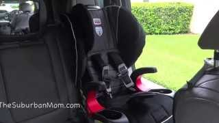 How To Install The Britax Frontier 90 ClickTight Harness-2-Booster Video Review