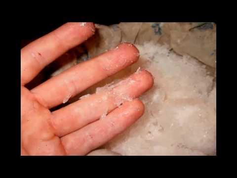 ретро способ - как сделать калиевую селитру (удобрение) дома