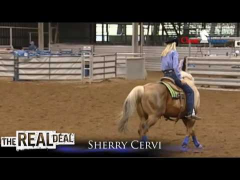 Sherry Cervi Riding Dinero
