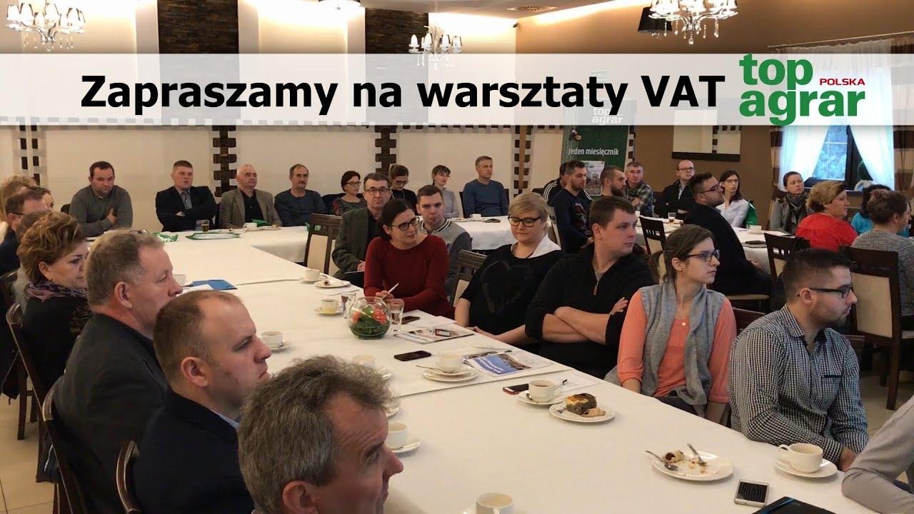 Warsztaty VAT z top agrar Polska