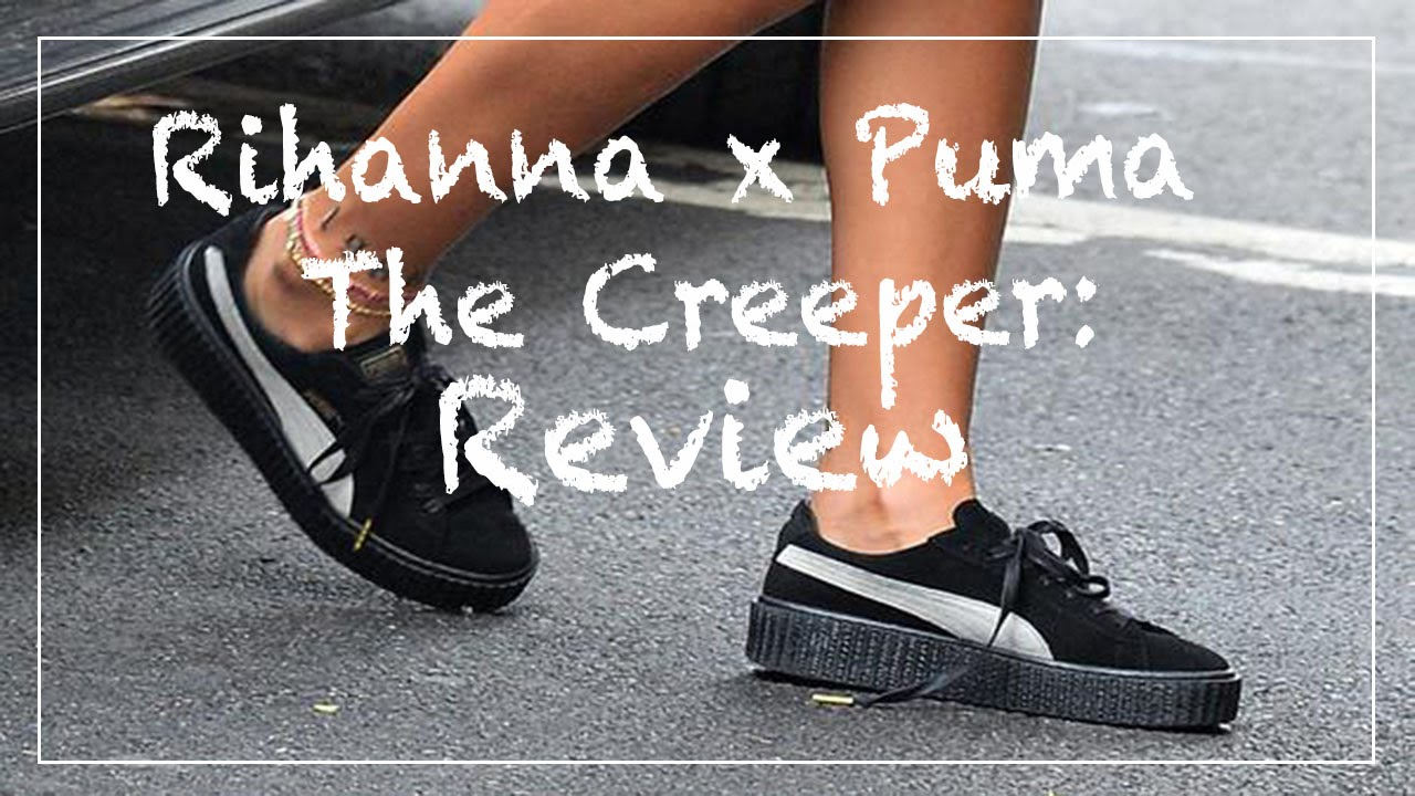 24. Новые Puma Creeper by Rihanna. Обзор. - YouTube