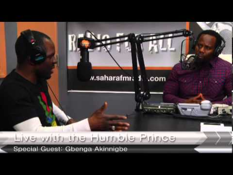 Humble Prince Round Table   Gbenga Akinnagbe and Danjuma Carter