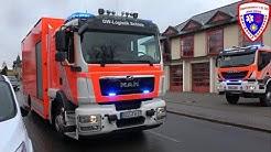 🚨 ELW + neuer GW-Logistik + TLF 4000 Feuerwehr Schleiz