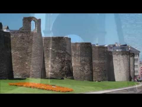 The Roman Wall of Lugo, Tower of Hercules & La Corruña; Galicia, Spain