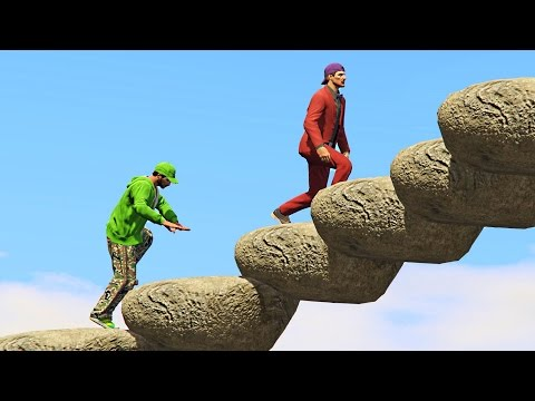 THE DODGIEST OBSTACLE COURSE! (GTA 5 Funny...