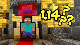 HEROBRINE W 1.14? - Minecraft W Pudełku