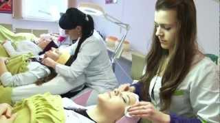 Zajęcia na kierunku Kosmetologia.