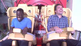 Kevin Hart Presents - How to get over your fears ( Roller Coasters )