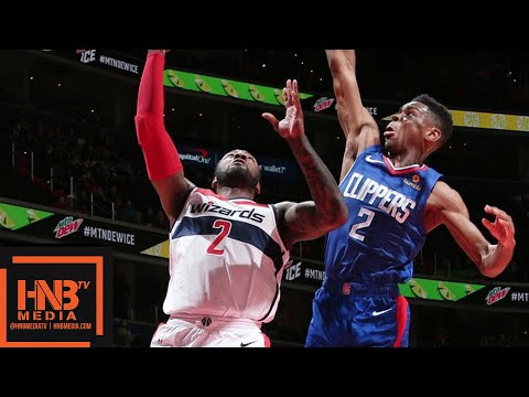 LA Clippers vs Washington Wizards Full Game Highlights | 11.20.2018, NBA Season