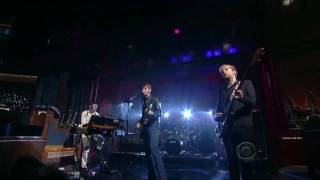 Franz Ferdinand - No You Girls (Live David Letterman 2009) (High Quality video) (HD)