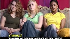 FINDOUT , afl: discussie tussen jongeren over sex & liefde nav een aantal stellingen.