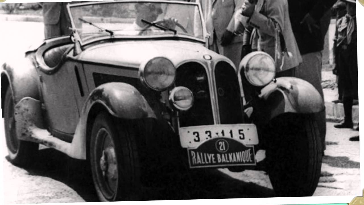 BMW 315 1 Roadster - 1935 - YouTube