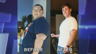 Man's Transformation from Obesity to Fitness Trainer