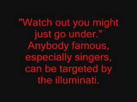 "Rihanna doesn't want to be in illuminati. ""Disturbia"""