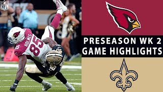 Video Cardinals vs. Saints Highlights | NFL 2018 Preseason Week 2 download MP3, 3GP, MP4, WEBM, AVI, FLV Agustus 2018