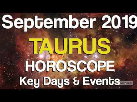 Taurus September 2019 Horoscope - Daily Astrology