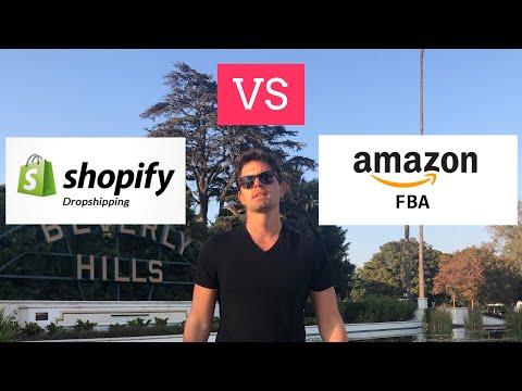 AMAZON FBA O DROPSHIPPING? Il mio onesto parere su dove iniziare thumbnail