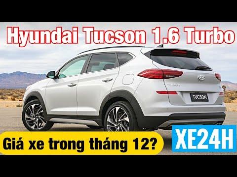 Hyundai Tucson 1.6 Turbo 2020, giá xe trong tháng 12