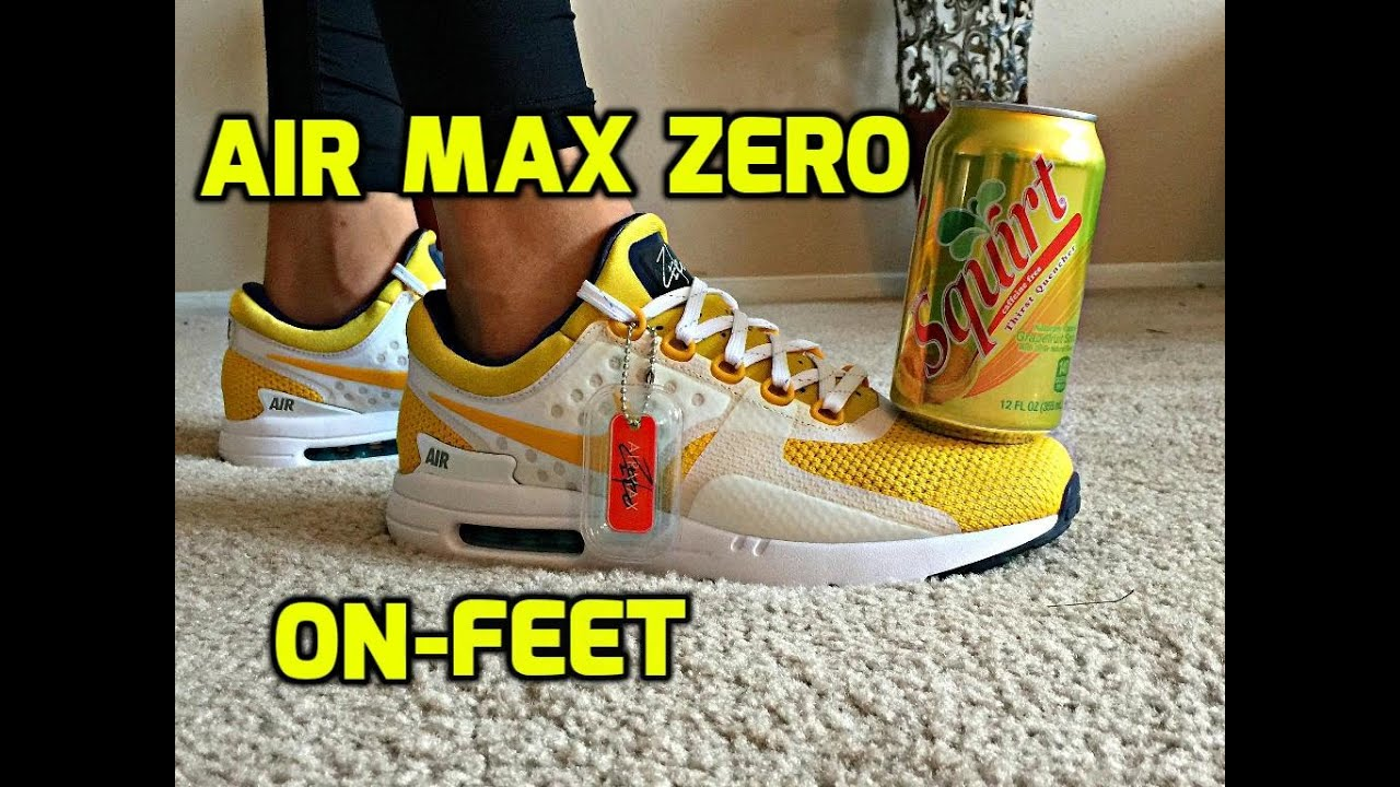 Air Max Zero Yellow