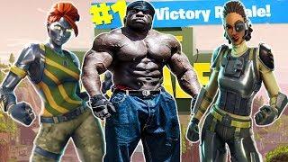 * NEW SKINS* // #1 Bodybuilder Fortnite Player // Fortnite Battle Royale // PS4 PRO | Kali Muscle