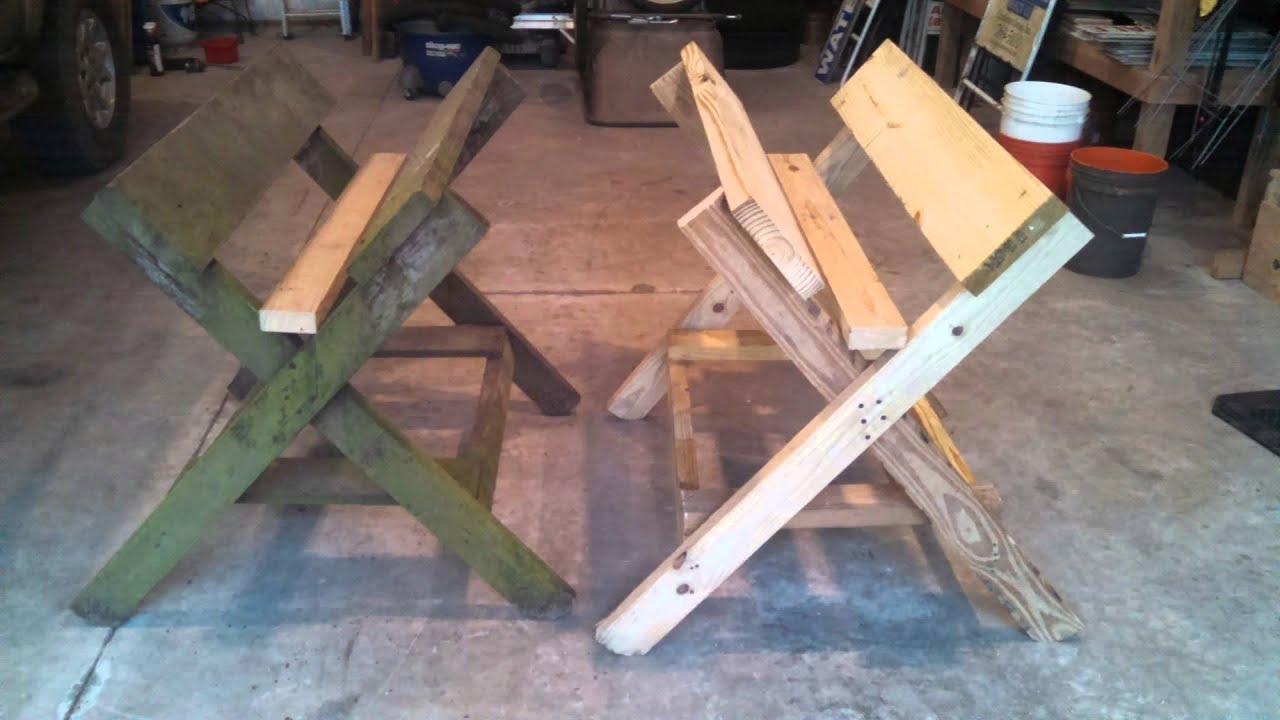 south carolina wood deer skinning rack table trough