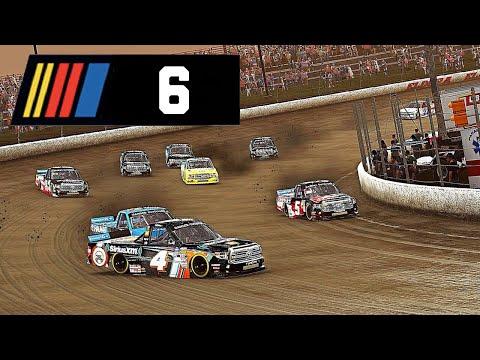 ELDORA DIRT DERBY! - NASCAR Heat 4 Career Mode #6
