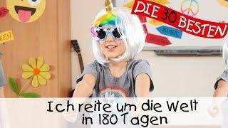 Ich reite um die Welt in 180 Tagen - UNICORN KIDS  || Kinderlieder zum Tanzen für Einhorn-Fans