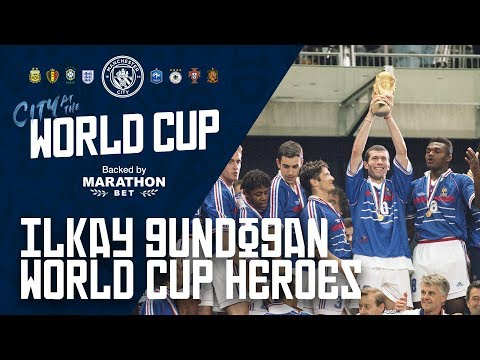 "GUNDOGAN'S WORLD CUP HEROES: ""Zinedine Zidane"""