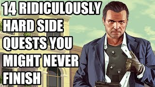 15 Ridiculously Hard Side Quests You Might Never Finish