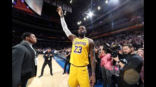LeBron James Passes Kobe Bryant For Number 3 on All-Time Scoring List | January 25, 2020
