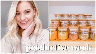 Productive Week | Home Organisation, Decluttering, Life Admin