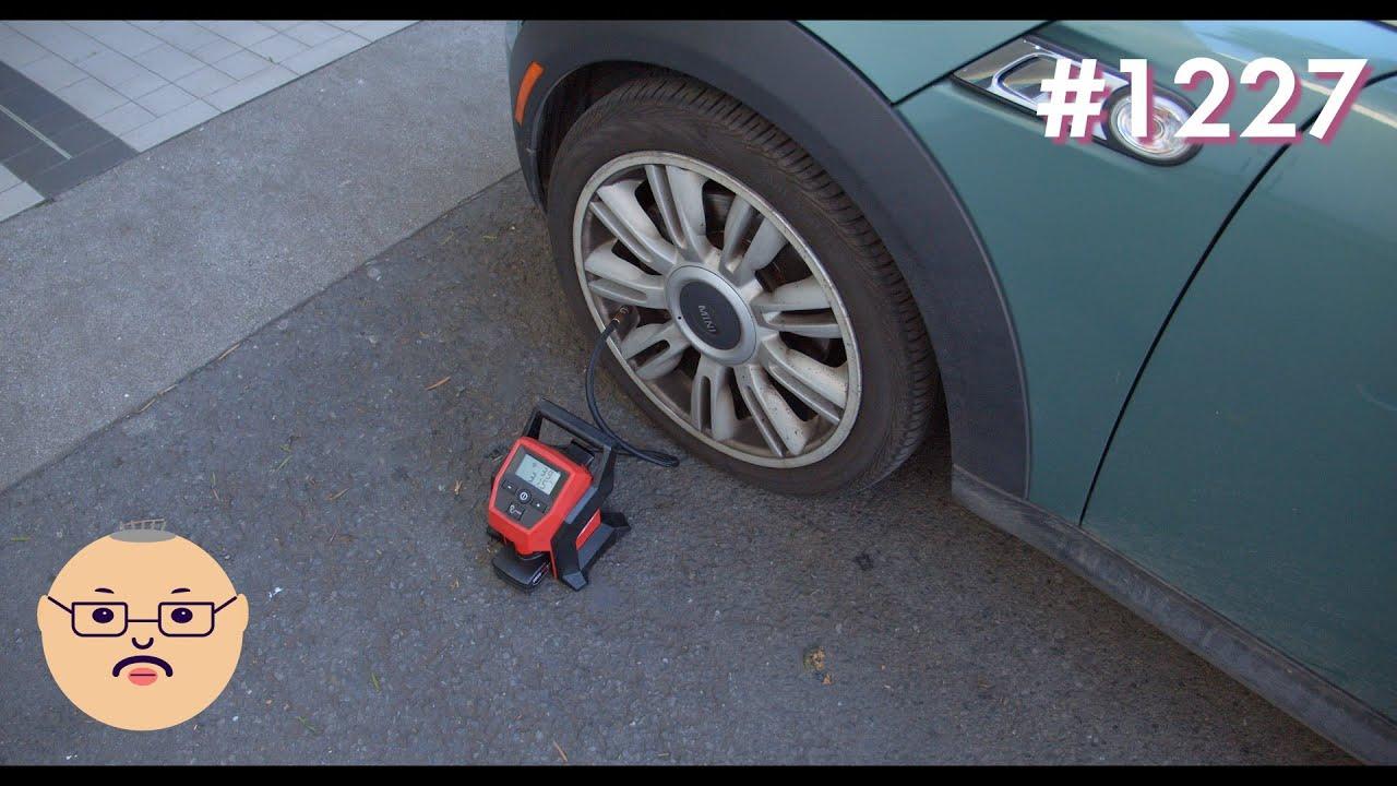 「ただタイヤの空気圧を調整したかっただけなのに。。。」第1227話