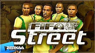 FIFA STREET ON PS2 (WITH SIMON)