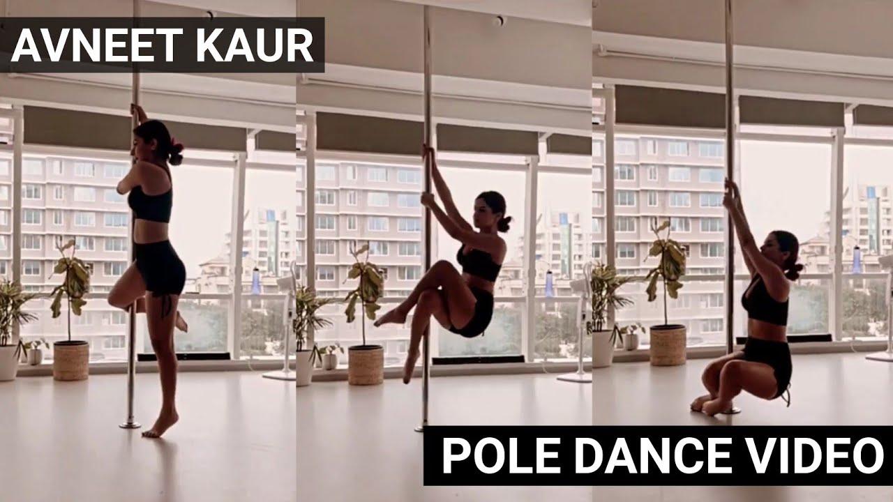 Download Avneet Kaur Learning Pole Dance