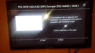 PS3 OFW 4.81/4.82 IDPS Dumper (PS3 NAND / NOR ) - Fat/Slim/Super Slim